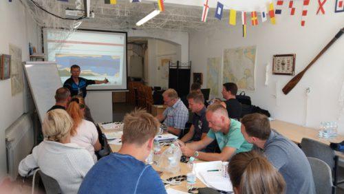 Schulungsraum Bootsfahrschule Müritz